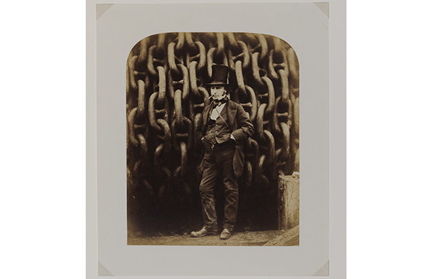 Isambard Kingdom Brunel and the launching chains of the Great Eastern Robert Howlett United Kingdom 1857 Victoria and Albert Museum London