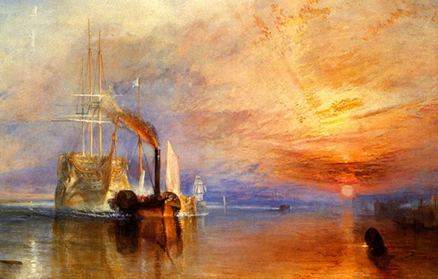 the fighting temeraire turner
