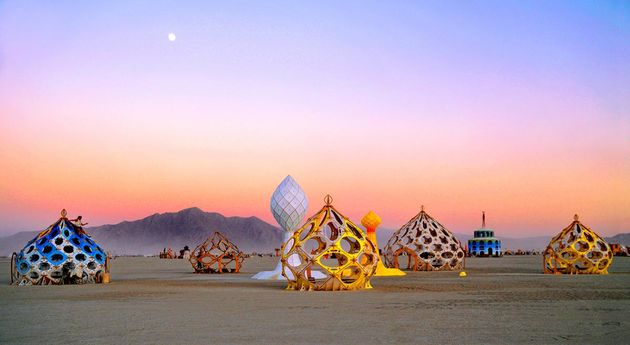 zonotopia and the two trees by rob bell black rock city nv burning man icon online december